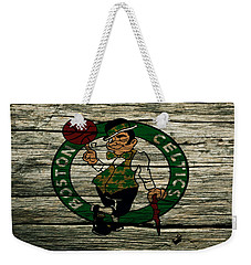 The Boston Celtics 2w Weekender Tote Bag by Brian Reaves