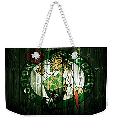 The Boston Celtics 5d Weekender Tote Bag by Brian Reaves