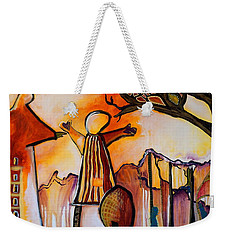 The Both Of Us Weekender Tote Bag by Theresa Marie Johnson