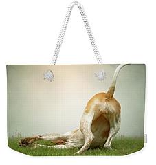 The Bottom Line Weekender Tote Bag