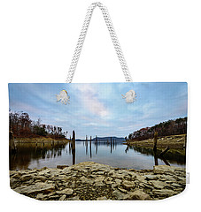 The Bottom Of The Lake Weekender Tote Bag