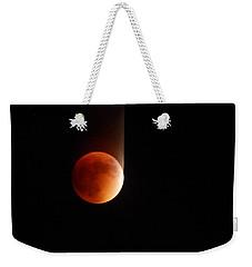The Bouncing Eclipse Weekender Tote Bag