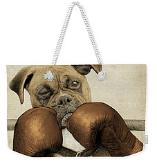 The Boxer Weekender Tote Bag