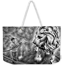 The Boy And The Lion 18 Weekender Tote Bag