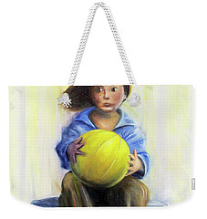 The Boy With The Ball Weekender Tote Bag