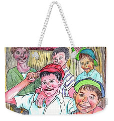 The Boys Of Spring Weekender Tote Bag