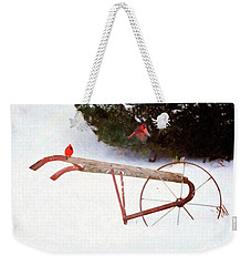 Weekender Tote Bag featuring the digital art The Boys by Sue Collura