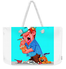 The Bozo Collection 6 Weekender Tote Bag
