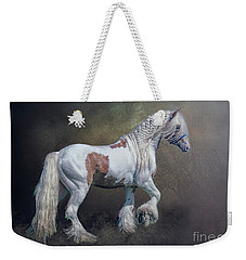 Weekender Tote Bag featuring the photograph The Braided Gypsy by Brian Tarr