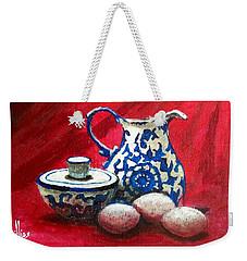 The Breakfast Still Life Weekender Tote Bag
