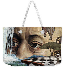 The Breaking Point Weekender Tote Bag by Ally White
