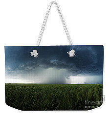 The Breath Before The Plunge Weekender Tote Bag