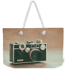 Weekender Tote Bag featuring the photograph The Brick by Ana V Ramirez