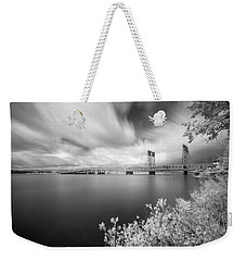 The Bridge Crosses Columbia River Weekender Tote Bag