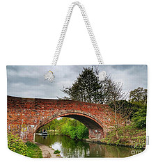 Weekender Tote Bag featuring the photograph The Bridge by Isabella F Abbie Shores FRSA