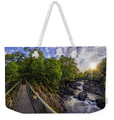 The Bridge To Summer Weekender Tote Bag by Ian Mitchell