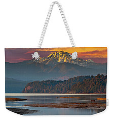 The Brothers From Hood Canal Weekender Tote Bag