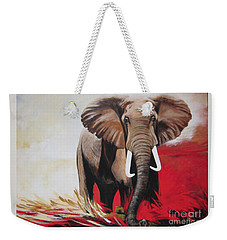 The Bull Elephant - Constitution Weekender Tote Bag