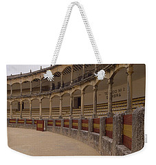 The Bullring Weekender Tote Bag by Shaun Higson