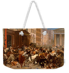 The Bulls And Bears In The Market Weekender Tote Bag