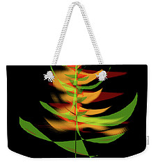 Weekender Tote Bag featuring the digital art The Burning Bush by James Fannin