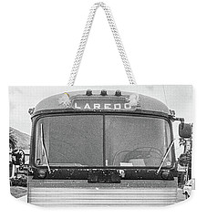 The Bus To Laredo Weekender Tote Bag