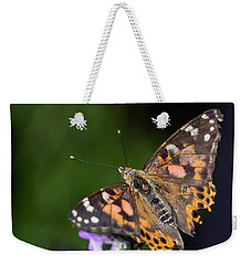 Weekender Tote Bag featuring the photograph The Butterfly Effect by Alex Lapidus