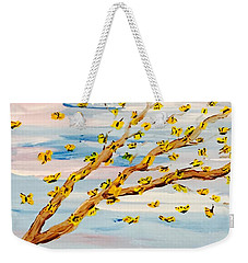 The Butterfly Tree Weekender Tote Bag