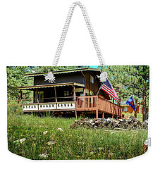 The Cabin Weekender Tote Bag by Ron White