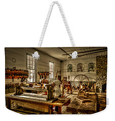 Weekender Tote Bag featuring the photograph The Cabinetmaker by David Morefield