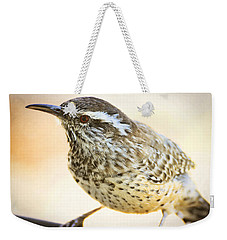 The Cactus Wren  Weekender Tote Bag by Saija  Lehtonen