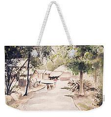 The Call Of Morning Weekender Tote Bag