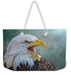 The Call Of The Eagle Weekender Tote Bag