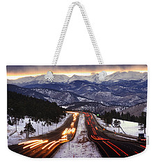 The Call Of The Mountains Weekender Tote Bag