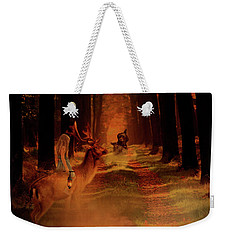 The Call Of The Wizard Weekender Tote Bag