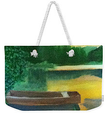 The Calm Before Nighttime Weekender Tote Bag