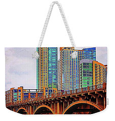 The Calm Before The Storm Tonight In Weekender Tote Bag