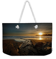 The Calming Bright Light Weekender Tote Bag