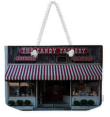 Weekender Tote Bag featuring the photograph The Candy Factory by Chris Flees