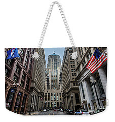 The Canyon In The Financial District Weekender Tote Bag