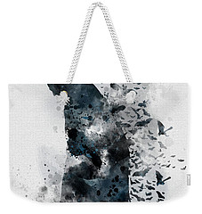 The Caped Crusader Weekender Tote Bag by Rebecca Jenkins