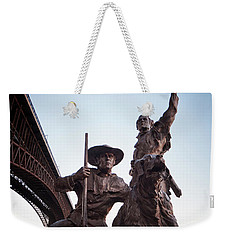 The Captain Returns Weekender Tote Bag