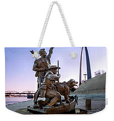 The Captain Returns With Arch Weekender Tote Bag