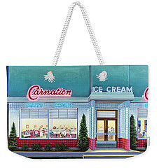 The Carnation Ice Cream Shop Weekender Tote Bag