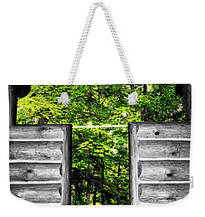 The Carpenters Cross Weekender Tote Bag by Daniel Thompson