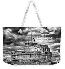 The Castle Of Sant'angelo In Rome Weekender Tote Bag