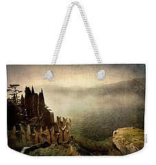 The Castle On The Lake. Malcesine Weekender Tote Bag