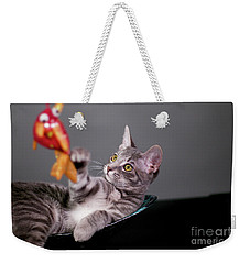The Cat And The Fish Weekender Tote Bag