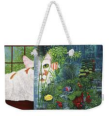 The Cat Aquatic Weekender Tote Bag