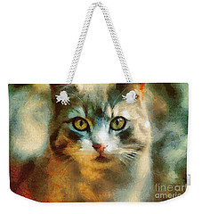 The Cat Eyes Weekender Tote Bag